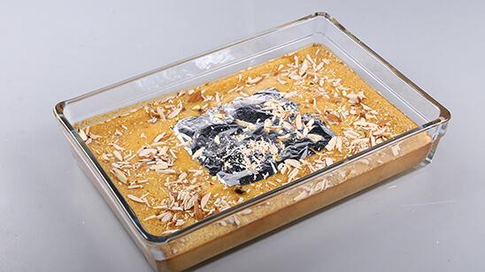 Bake Gulab Jamun Surprise Recipe | Lazzat
