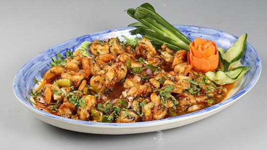 Butter Garlic Prawns Recipe | Masala Mornings