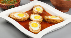 Chicken Nargisi Koftay Recipe | Lazzat