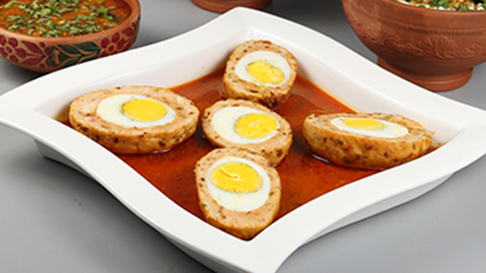 Chicken Nargisi Koftay Recipe   Lazzat