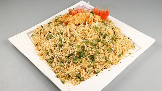 Chicken Tikka Fried Rice Recipe   Lazzat