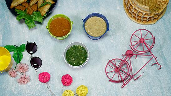 3 Types Of Chutney | Masala Kitchen