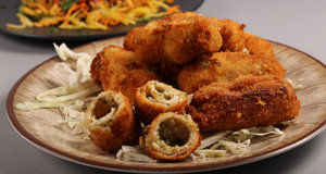 Fried Roulade Recipe   Flame On Hai