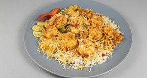 Jhenga Biryani Recipe   Dawat