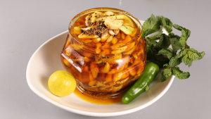 Keri Aur Lehsan Ka Achaar Recipe | Tarka