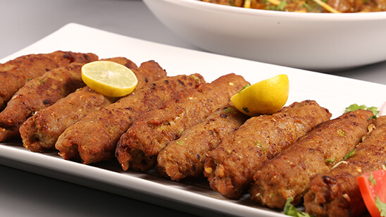 Mini Seekh Kabab Recipe | Tarka