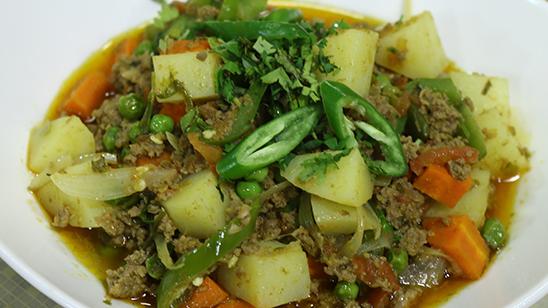 Mix Bhaji Qeema Recipe | Flame On Hai