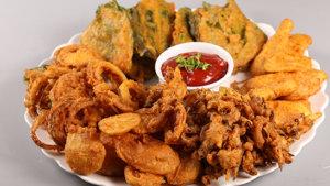 Pakora Thali Recipe | Lazzat