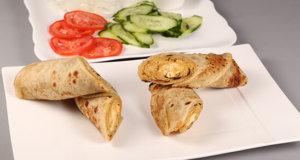 Reshmi Kabab Paratha Roll Recipe | Dawat