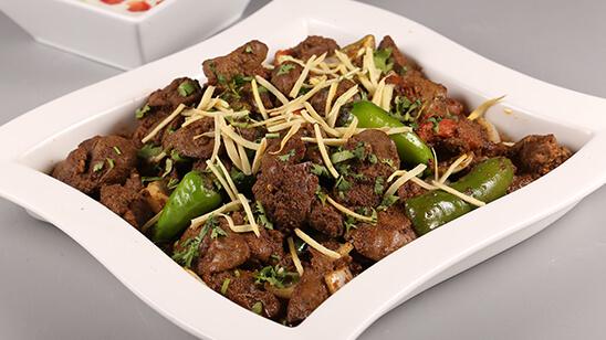 Chicken Liver Karahi Recipe | Lazzat
