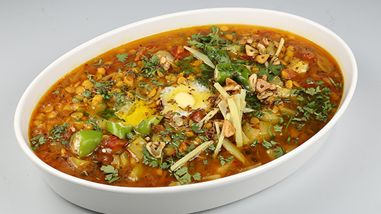 Achari Daal Lauki Recipe | Tarka