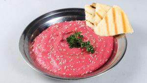 Beetroot Hummus Recipe | Lazzat