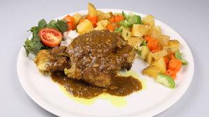 Beef Roast Recipe | Tarka