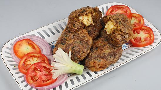 Cheese Bharay Shami Kabab Recipe   Flame On Hai