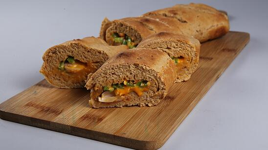 Cheese Vegetable Bread Recipe | Food Diaries