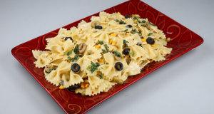 Creamy Bow Tie Pasta Recipe | Dawat