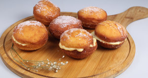 Custard Cream Doughnuts Recipe | Lively Weekends