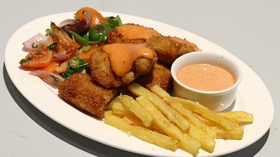 Fried Fish Steak Recipe | Flame On Hai