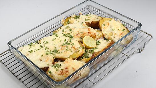 Fish Stuffed Jacket Potatoes Recipe   Food Diaries