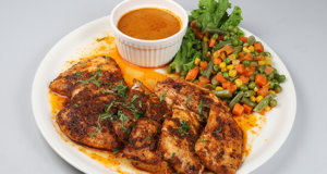 Grilled Fish With Creamy Coriander Sauce Recipe | Masala Mornings