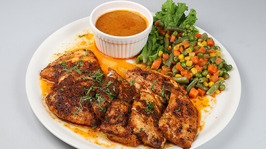 Grilled Fish With Creamy Coriander Sauce Recipe   Masala Mornings
