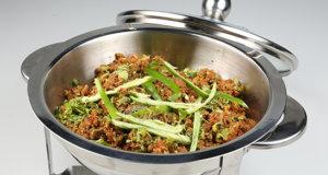 Hari Mirch Qeema Recipe | Lazzat