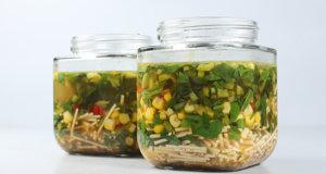 Instant Jar Noodles Recipe | Food Diaries