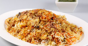 Jhenga Biryani Recipe   Food Diaries