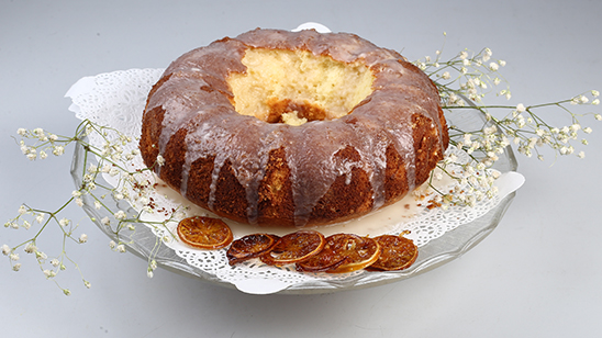 Lemon Glazed Cake Recipe | Food Diaries