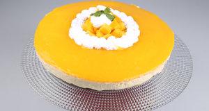 Mango Cheese Cake Recipe | Lazzat