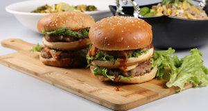 Multi Lava Burger Recipe   Tarka