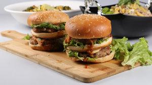 Multi Lava Burger Recipe | Tarka