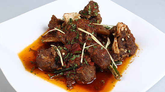 Dhaba Style Peshawari Karahi Recipe   Dawat