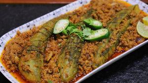 Qeema Bharay Karelay Recipe   Flame On Hai