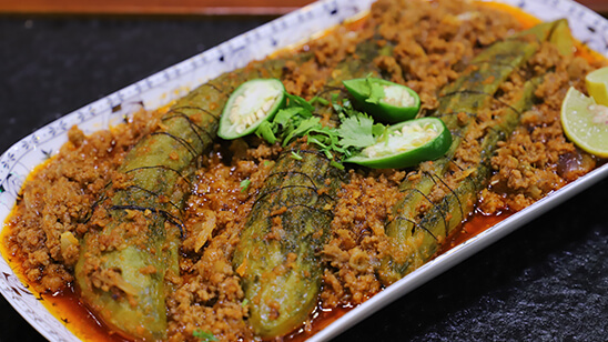 Qeema Bharay Karelay Recipe | Flame On Hai
