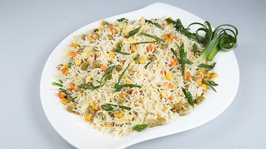 Vegetable Fried Rice Recipe | Dawat