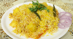 Zafrani Chana Dum Biryani Recipe | Flame On Hai