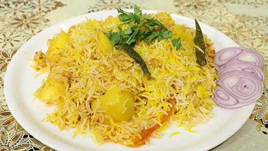 Zafrani Chana Dum Biryani Recipe   Flame On Hai