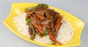 Beef Stir Fry With Peanut Sauce Recipe | Dawat
