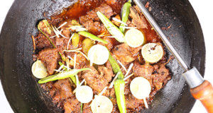 Lemon Ginger Karahi Recipe | Lazzat