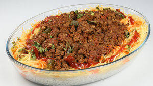 Mince Noodles Rice Recipe   Tarka
