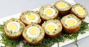 Aalu Tikki Scotch Egg Recipe | Lazzat