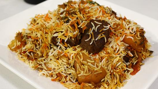 Beef Masala Biryani Recipe   Flame On Hai