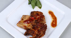 Fish Fillets with Ginger Sauce Recipe | Tarka