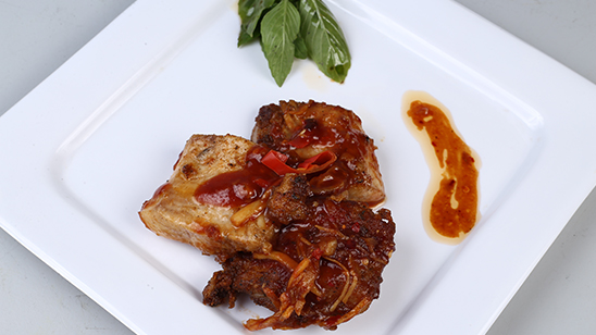 Fish Fillets with Ginger Sauce Recipe   Tarka