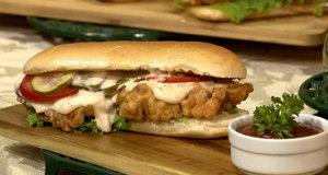 Fish Sandwich Po Boy Recipe | Lazzat