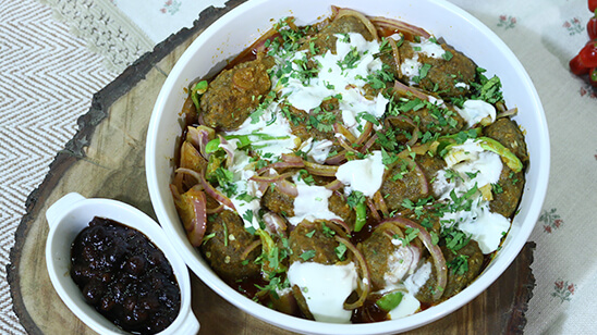 Masala Kafta Kabab Recipe | Lazzat