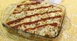Mexican Pasta Bake Recipe | Lazzat
