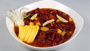 Mango Black Bean Chilli Recipe | Dawat