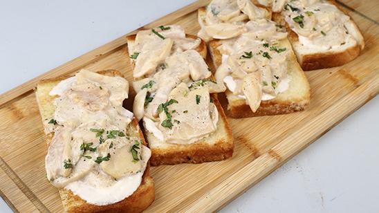 Mushrooms On Toast Recipe | Dawat